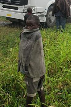 Displaced child from Congo (picture by European Commission DG ECHO)