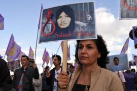 Manifestation pro Sakineh
