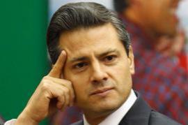 Enrique Peña Nieto (picture by Reuters)