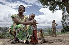 The aftermath of genocide in Rwanda (picture by Woldphoto)
