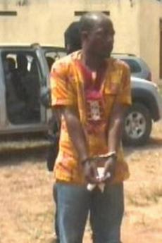 Charles Blé Goudé getting arrested in Ghana after being in hiding for 18 months.