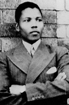 Young Nelson Mandela