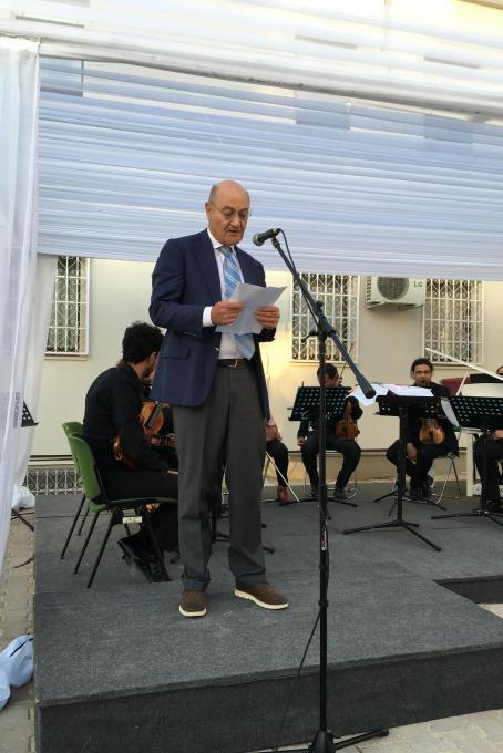 The speech by Gabriele Nissim