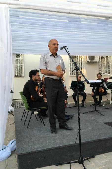 The speech by Abdessatar Ben Moussa
