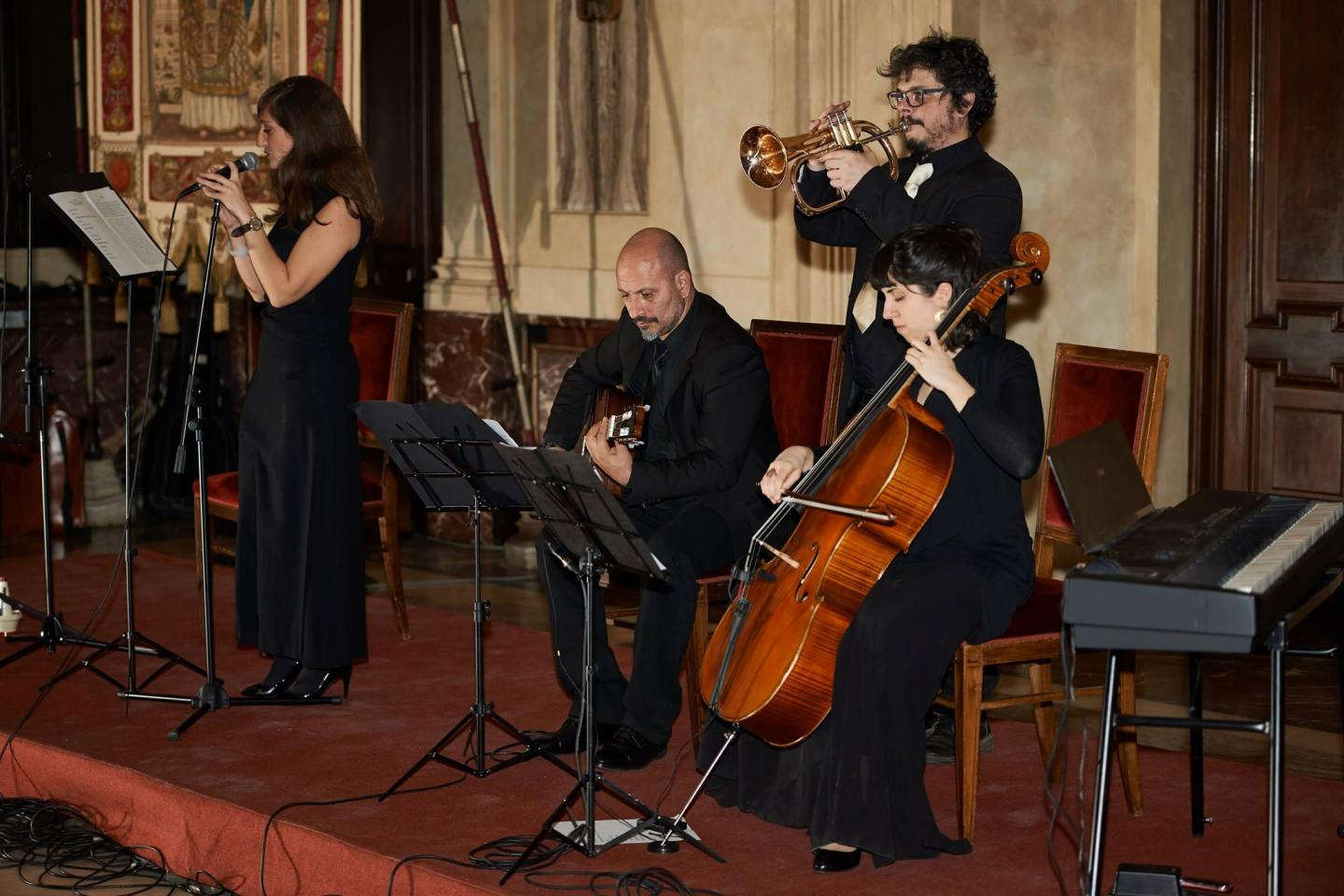 Concert of Goldene Medine ensemble