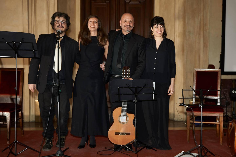 Massimo Marcer, Miriam Camerini, Massimo Latronico and Bruna Di Virgilio