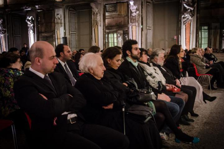 The Righteous relatives' in the first row