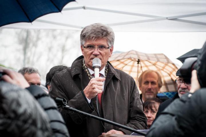 The speech by Norway's ambassador Bjorn Trygve Grydeland