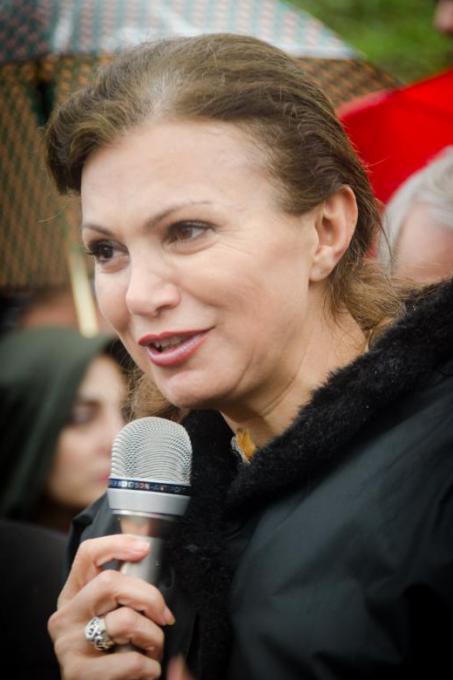 Giselle El Kazzi, Samir Kassir's widow