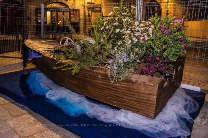 The memorial boat