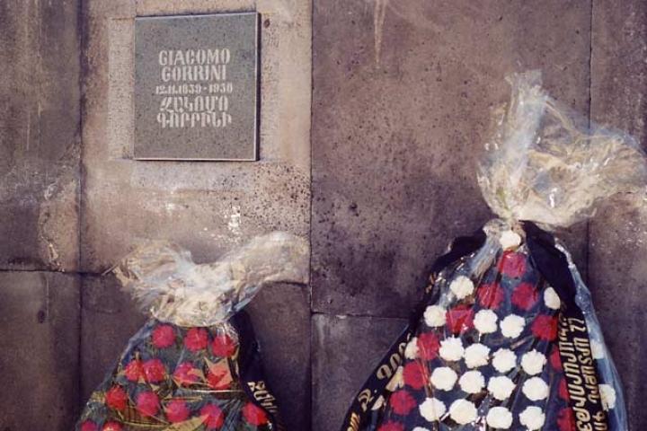 Gorrini's memorial stone