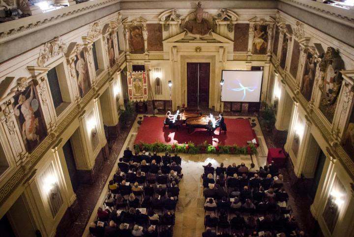 The Concert in Alessi Room of Palazzo Marino on 6 March, EU Day of the Righteous