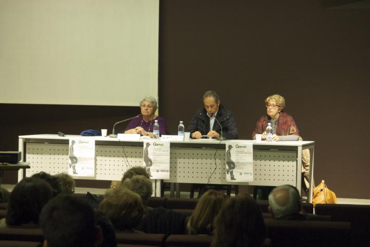 "Analytical psychologist Nadia Neri, child neuro-psychiatricist Alessandro Albizzati and Gariwo Director Ulianova Radice at seminar ""The Righteous between ethical theories and life practices"", 6 November"