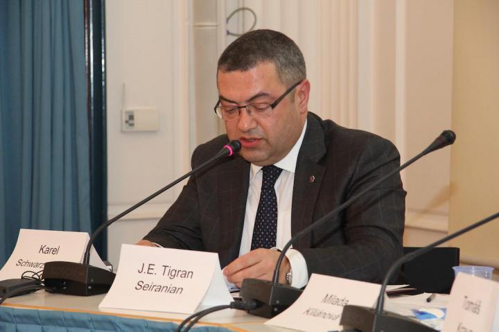 Armenian Ambassador J.E. Tigran Serainan