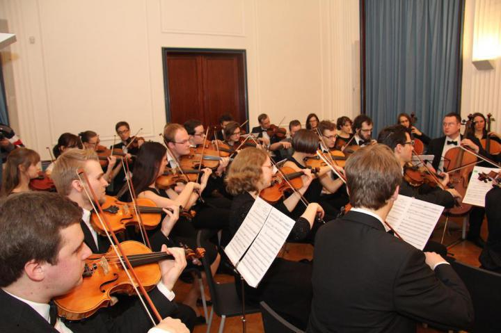 Orchestra of Karolina University directed by Haig Utidjan