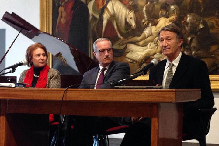 Enza Nunziato, Giovanni Izzo and Emilio Barbarani