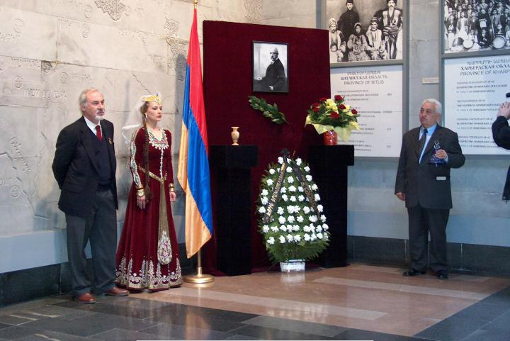 Ceremony at the Museum of the Genocide