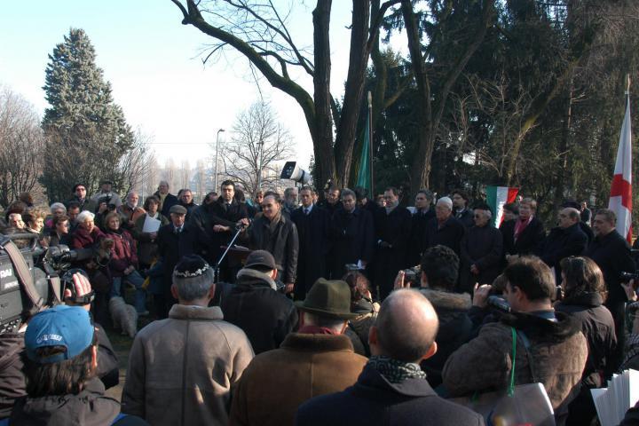 The speech by Gabriele Nissim, founder of Gariwo