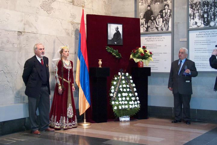 The ceremony for Gorrini