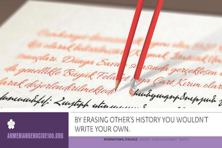 By erasing other history you wouldn't write your own