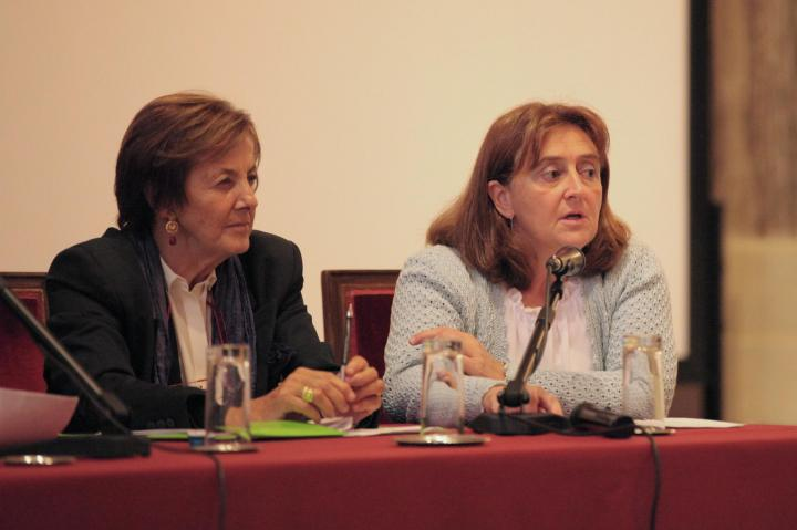 Anna Maria Samuelli and Emanuela Bellotti of Gariwo Teaching Commission