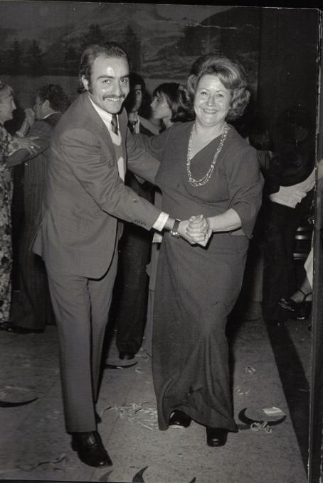 Azucena with her son Néstor who will go missing in the same year (1976)