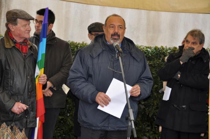 The professor Baykar Sivazliyan, president of Unione Armeni d'Italia