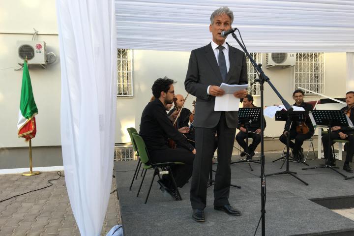 The speech by the Ambassador Raimondo De Cadorna