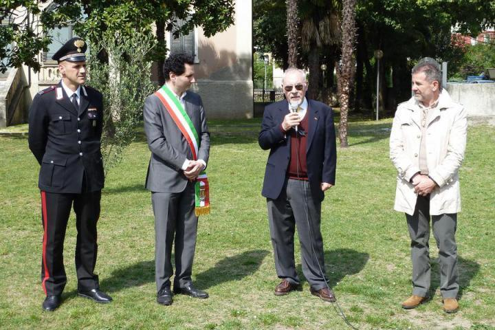 21 April - Pietro Kuciukian attends ceremony in which an apricot tree is planted in Arco di Trento to remember the Armenian Genocide