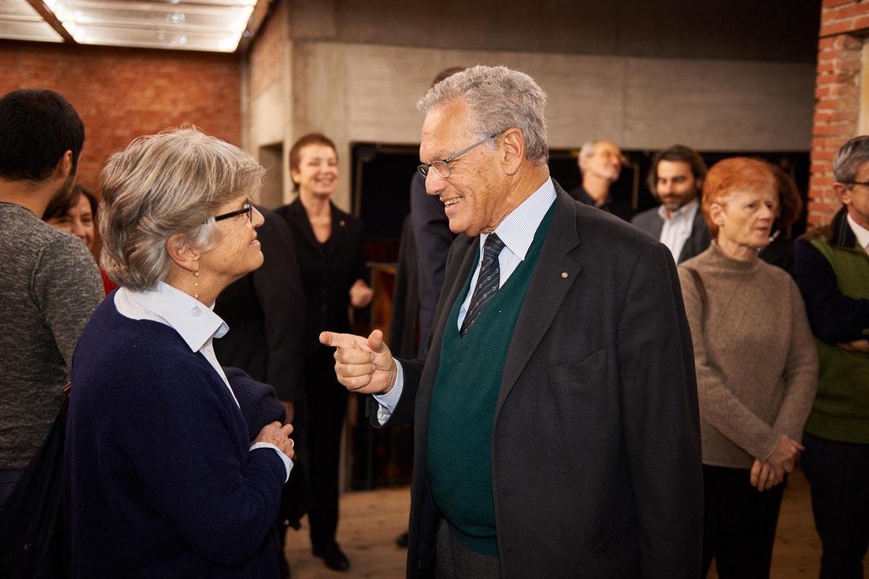 Roberto Jarach, vice president of Memorial of the Shoah of Milan