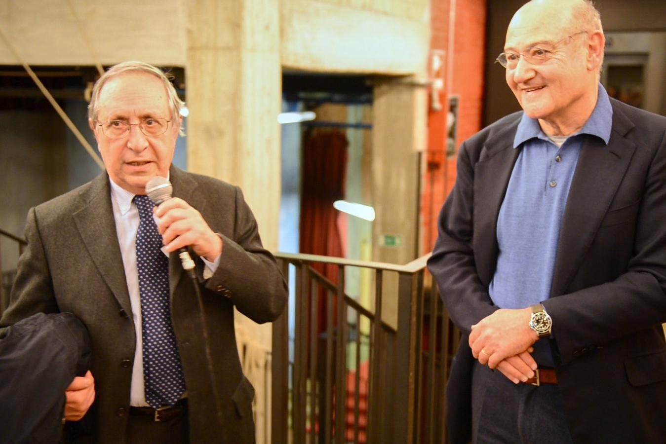 Raffaele Besso, president of Jewish community of Milan