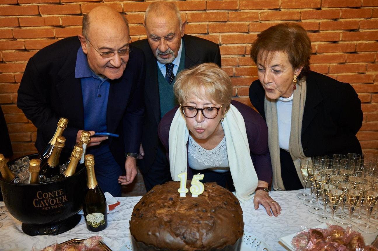 2016 - Gabriele Nissim, Pietro Kuciukian, Ulianova Radice and Annamaria Samuelli - the founders of Gariwo