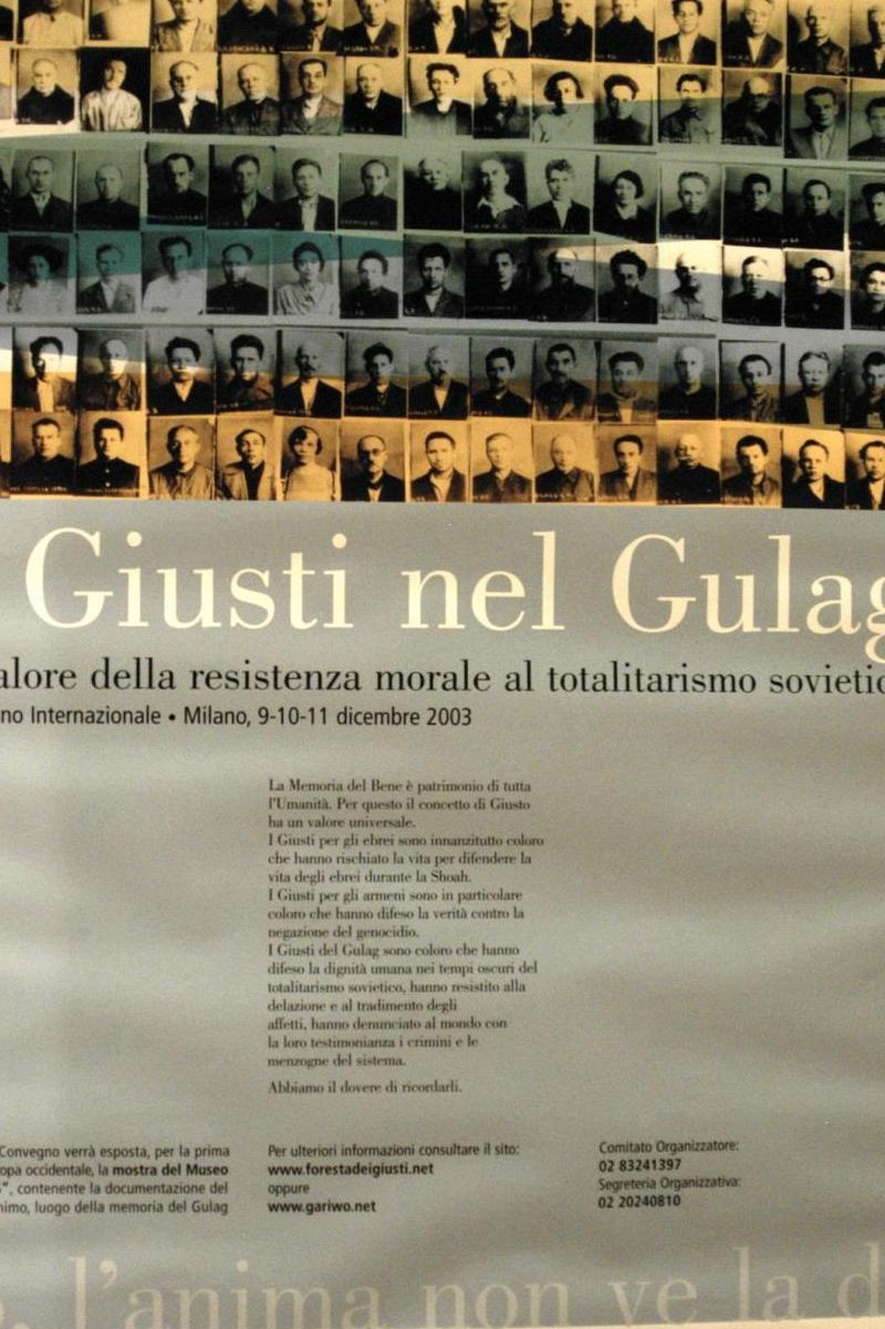 2003 - our meeting about the Righteous in the GUlag