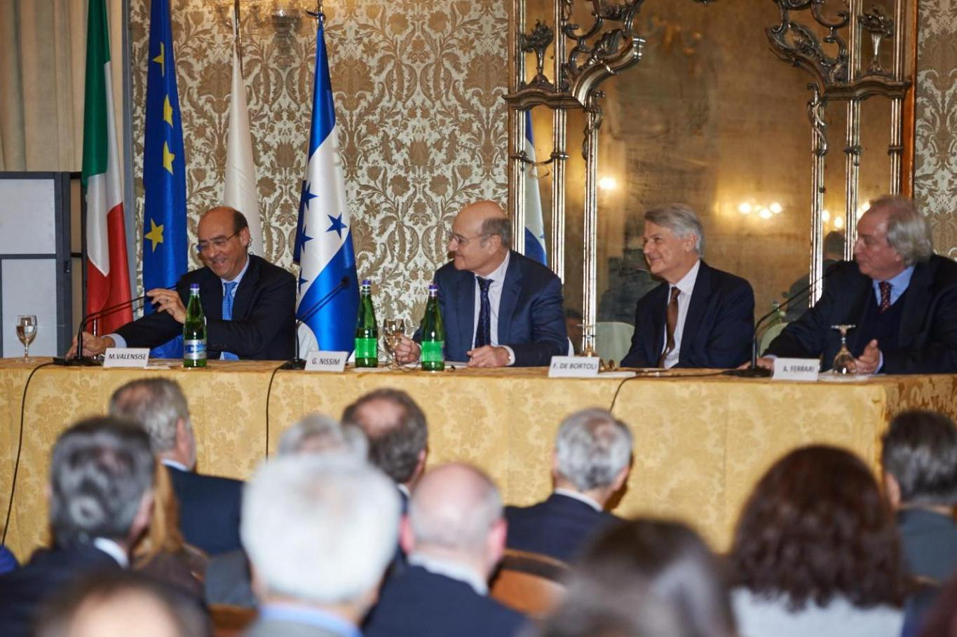 2015 - European Day of the Righteous before the Consular Corps of the Lombardy region
