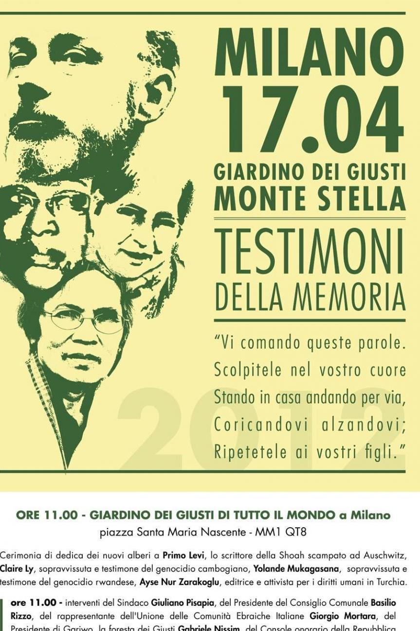 2012 - Witnesses of memory