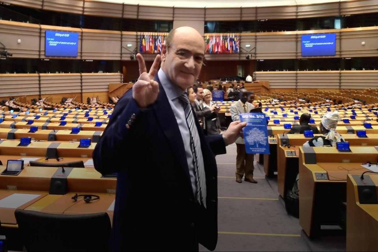 10 May 2012 - European Day of the Righteous approved in Brussels