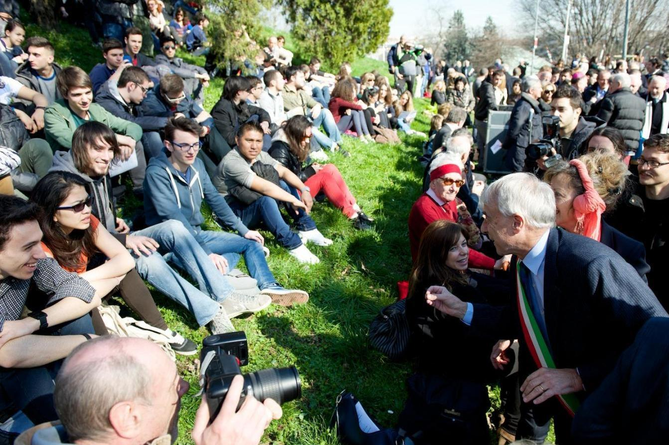 2015 - the annual ceremony at the Garden of the Righteous in Milan for European Day of the Righteous