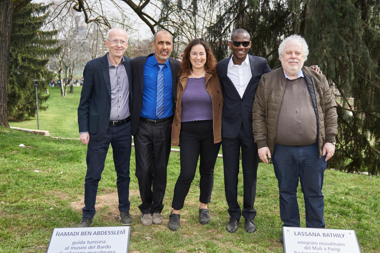 Riccardo Noury, Hamadi ben Abdesslem, Pinar Selek, Lassana Bathily and Klaas Smelik
