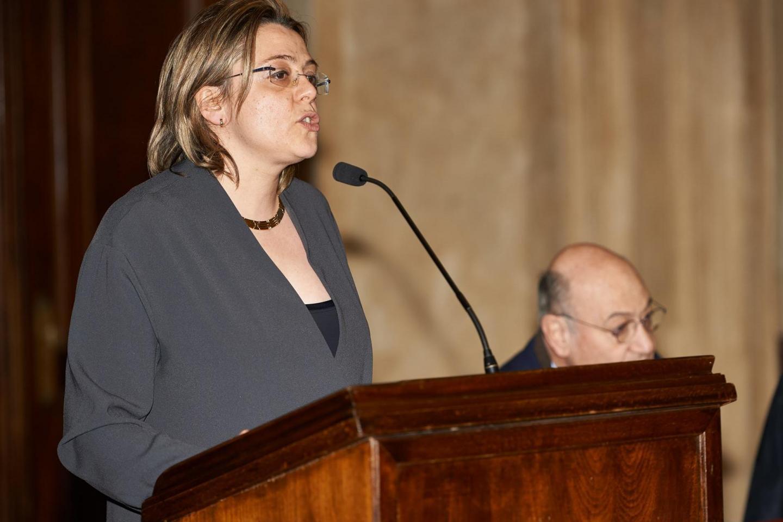 The greetings from Milan Deputy Mayor Mrs. Anna Scavuzzo
