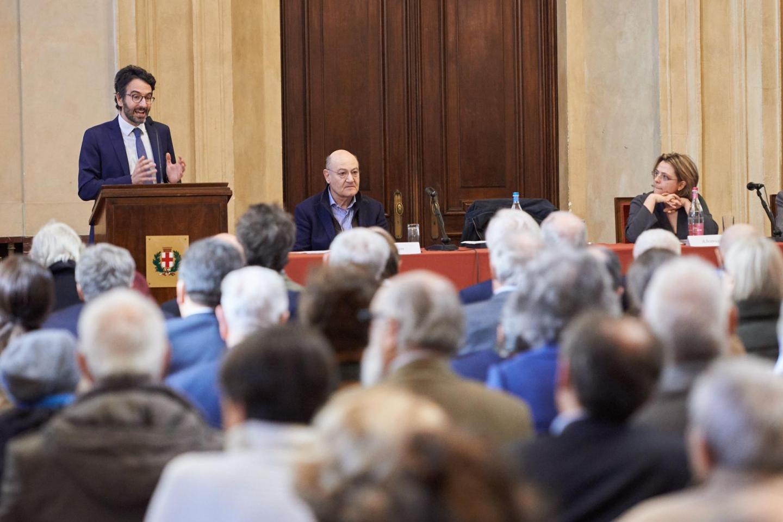 The remarks of Lamberto Bertolé, President of Milan City Council