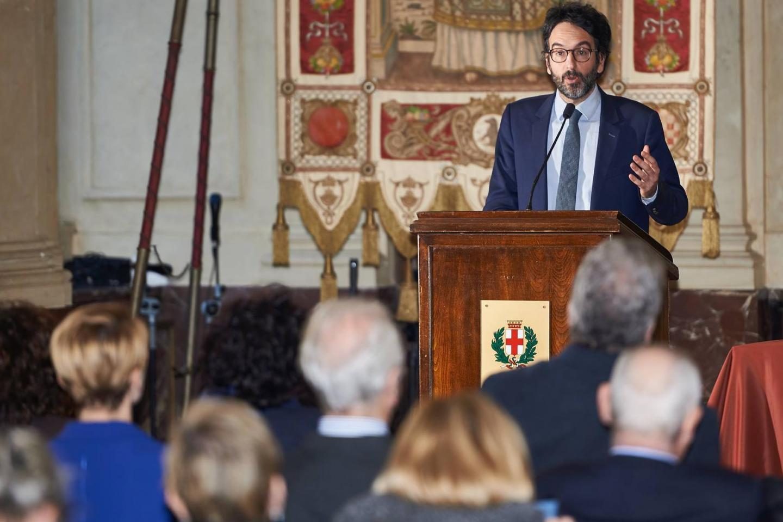 The President of Milan City Council Lamberto Bertolé