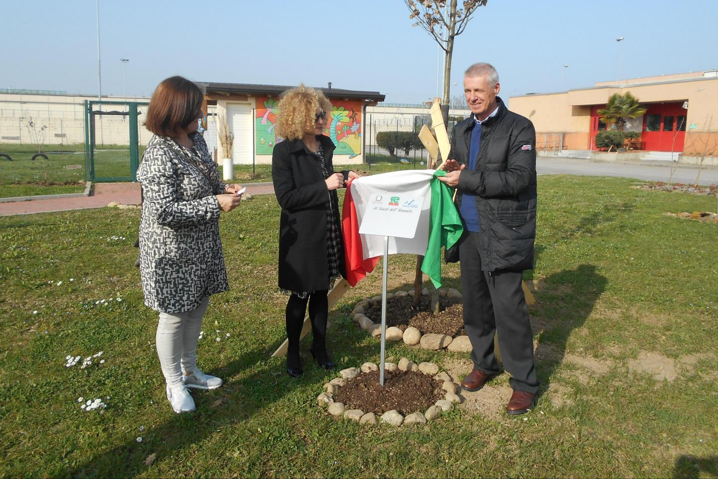 Unveiling of the plaque dedicated to Giorgio Perlasca