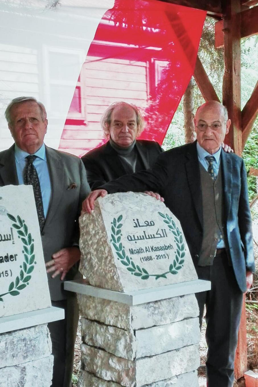 Ambassador of Italy in Amman Giovanni Brauzzi, Corriere della Sera editorialist Antonio Ferrari, Gariwo Chairman Gabriele Nissim