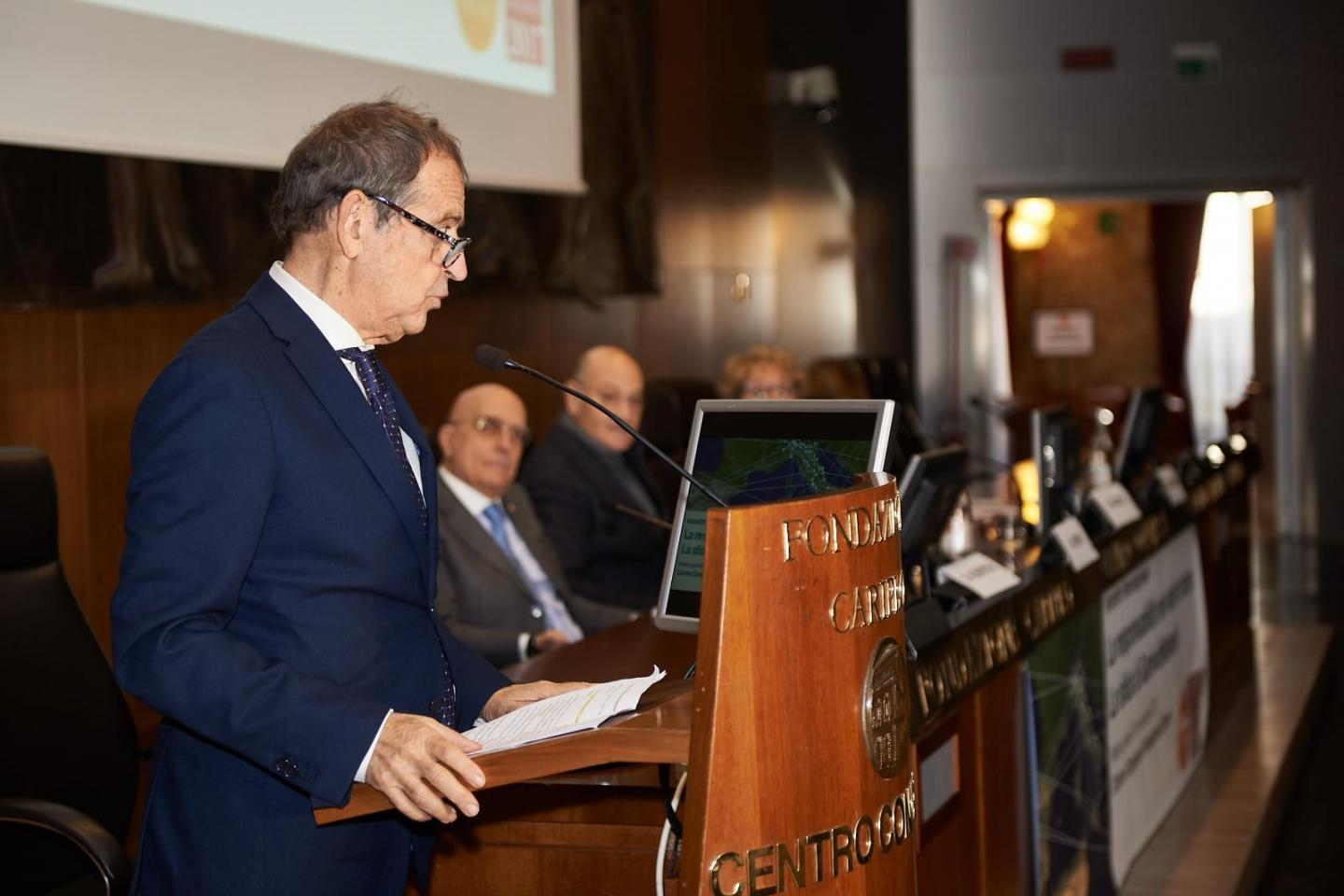 The greetings of the Under-Secretary of the Lombardy Region Presidency Gustavo Cioppa
