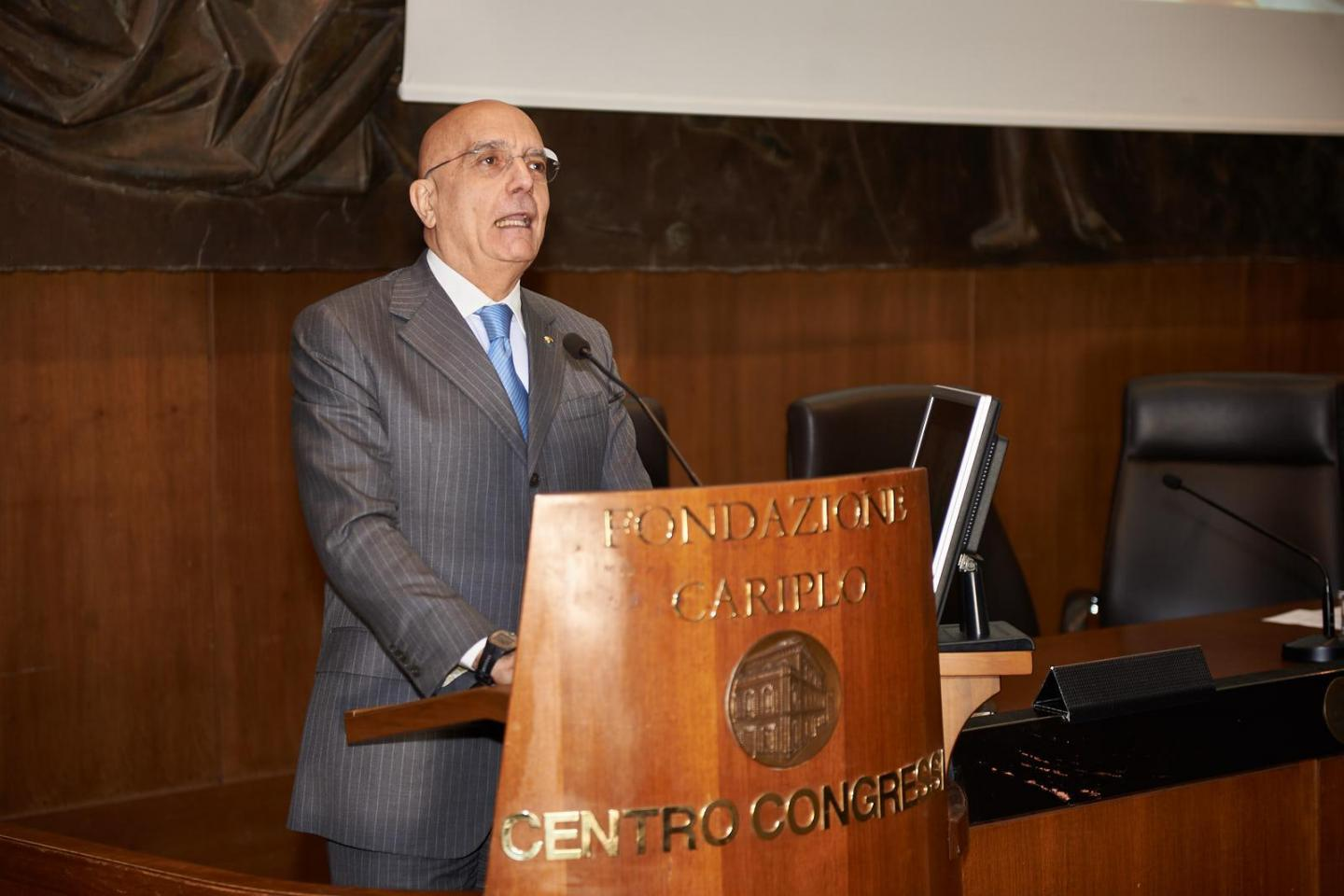 The speech of Senator Gabriele Albertini