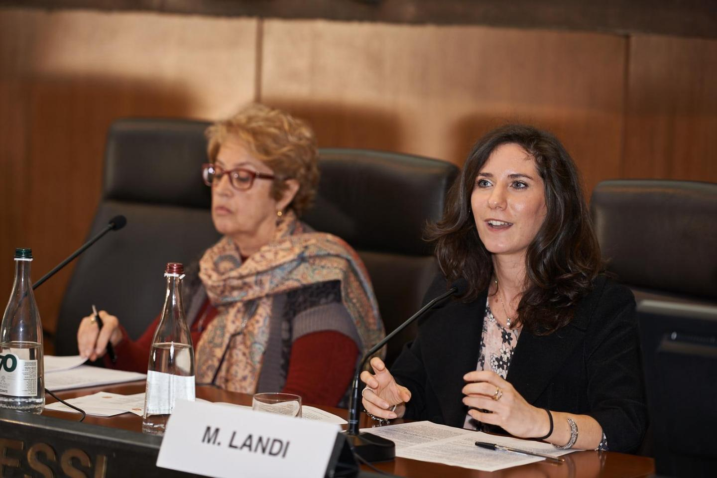 Martina Landi, Editor in charge of Gariwo