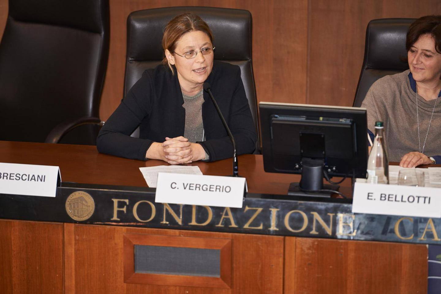 Carolina Vergerio, referent of the Garden of Vercelli
