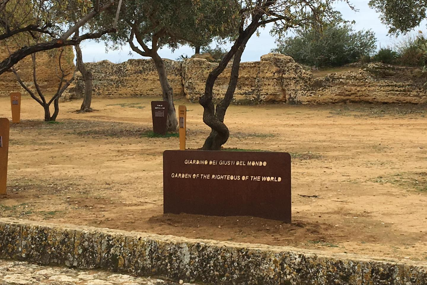Garden of the world in Agrigento