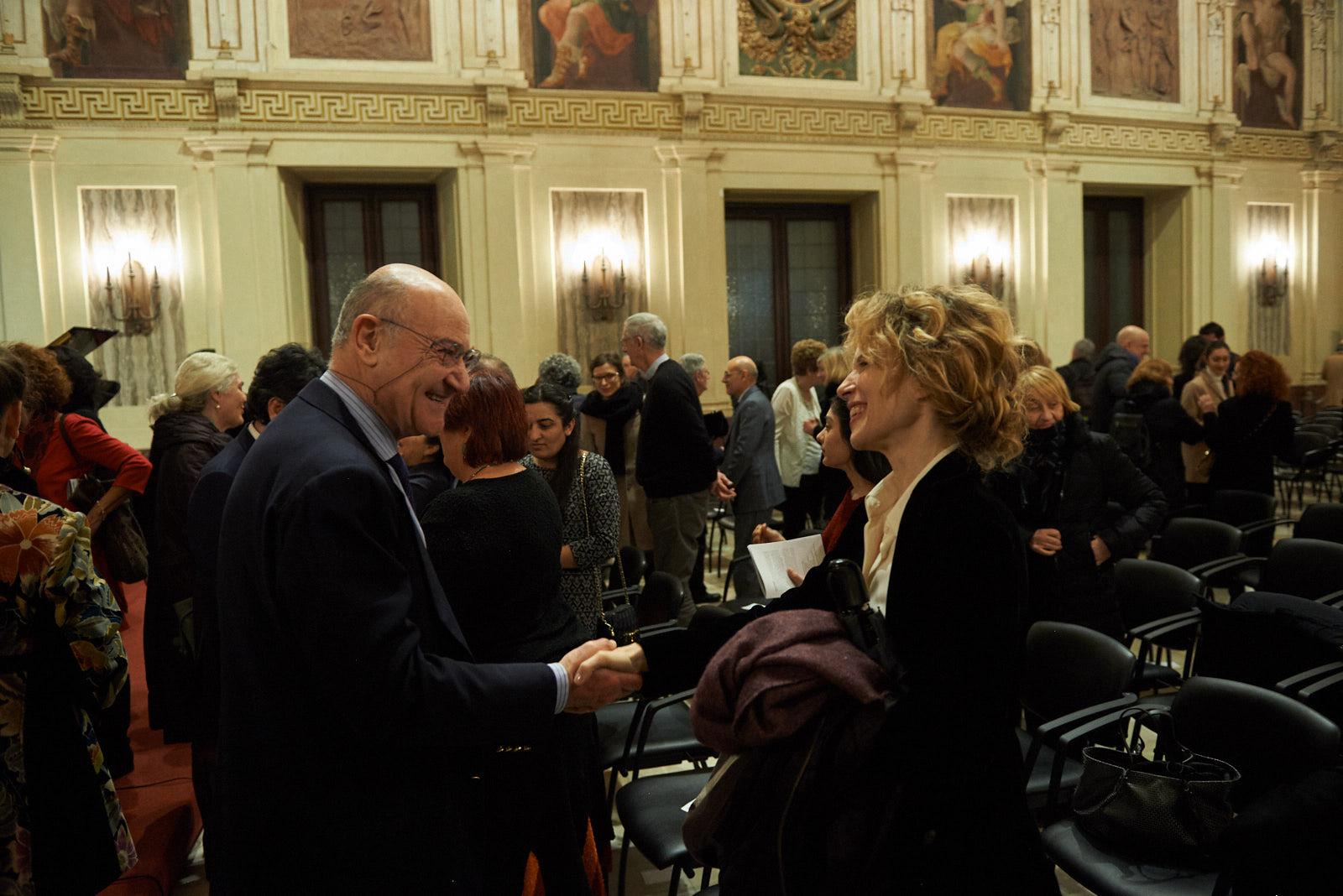 Gabriele Nissim and Sonia Bergamasco