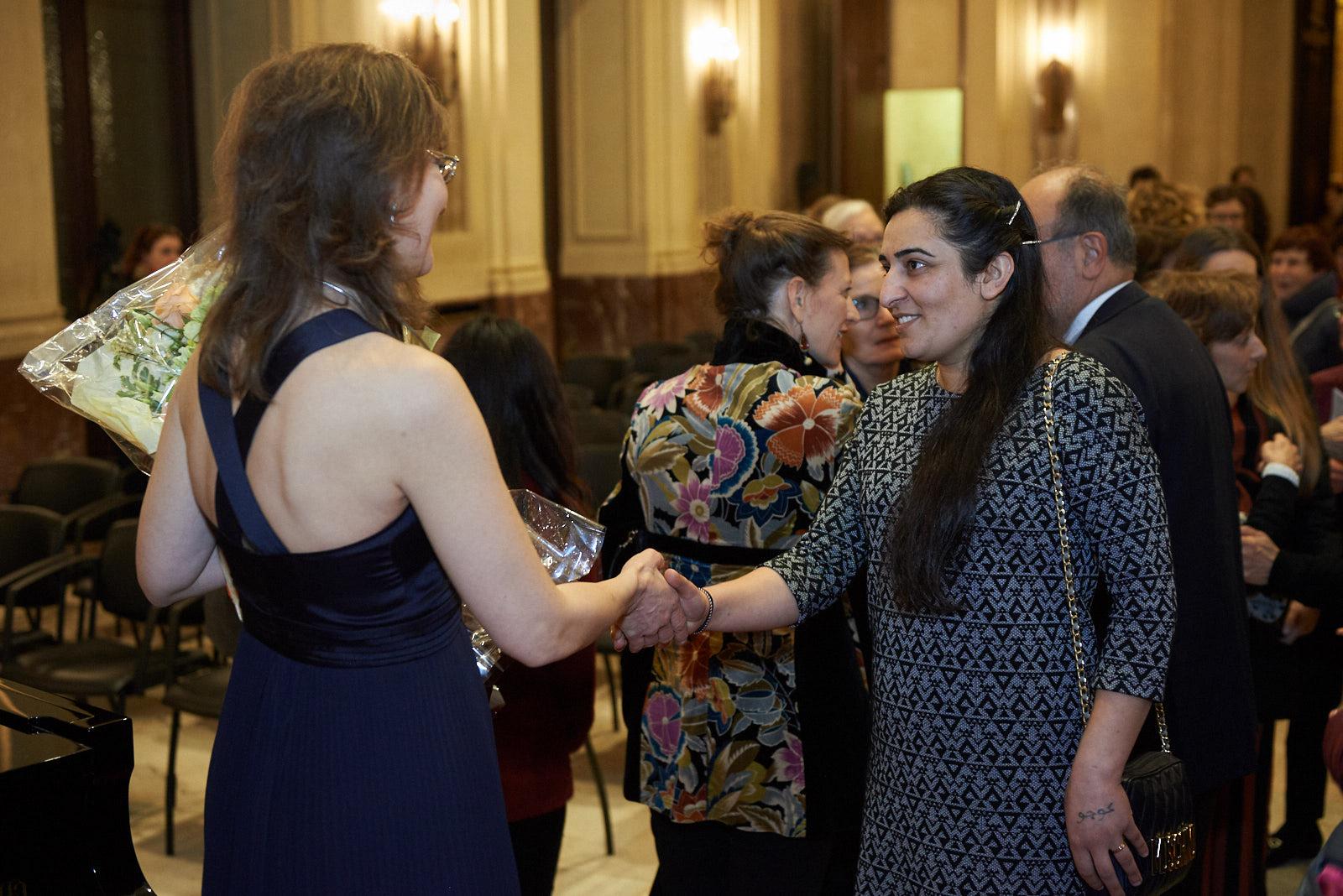 Farida Abbas with Ani Martirosyan